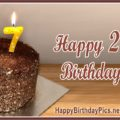 Happy 27th Birthday Wishes with Candles