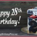 Happy 28th Birthday Car Lover