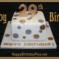 Happy 29th Birthday with Gold and Silver Coins