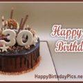 Happy 30th Birthday Chocolate Cake