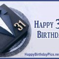 Happy 31st Birthday for Men