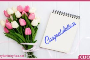 Congratulations Bouquet for You