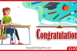 Education Congratulations Card