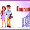 Student Congratulations Message