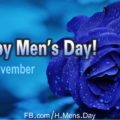 Happy Men's Day - Blue Rose