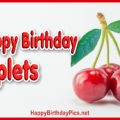 Happy Birthday Cherry Triplets