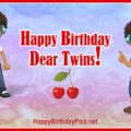 Happy Birthday Twin Boys