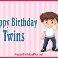 Happy Birthday Lovely Twins