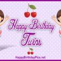 Happy Birthday Twin Sisters