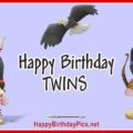 Happy Birthday Native American Twins