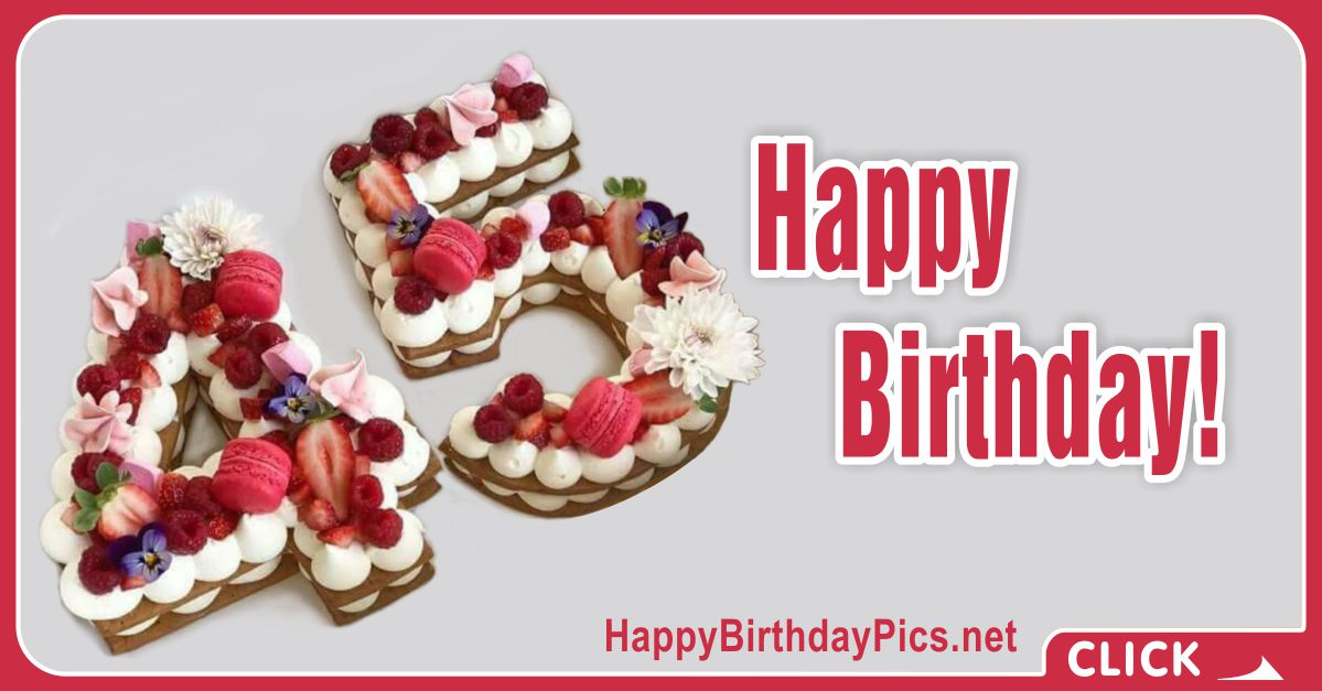 Happy 45th Birthday with Pink Macarons Card Equivalents