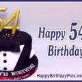 Happy 54th Birthday with Black Tuxedo