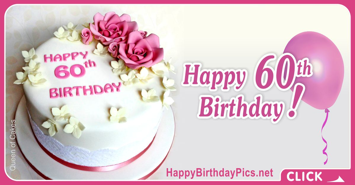 Happy 60th Birthday with Yellow Flowers Card Equivalents
