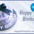 Happy 61st Birthday with Diamond Pattern