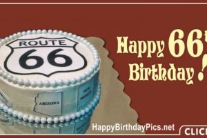 Happy 66th Birthday on Route 66