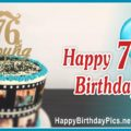 Happy 76th Birthday with Film Strap