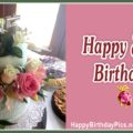 Happy 85th Birthday with Lace Pattern