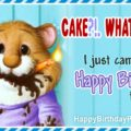 I Just Came To Say Happy Birthday