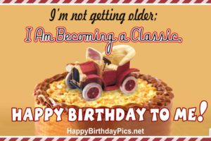 Happy Birthday To Me – Becoming A Classic