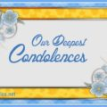 Our Deepest Condolences, Sympathy Card
