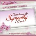 Condolence Messages and Sympathy Cards Facebook Page