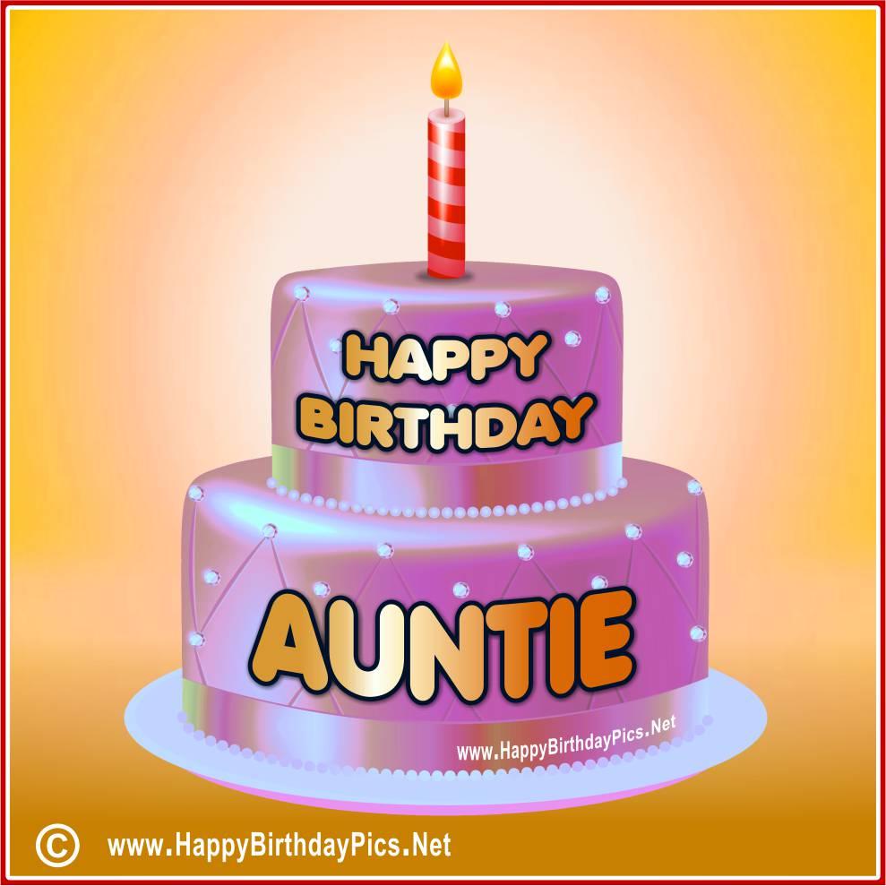 Happy Birthday Aunt!