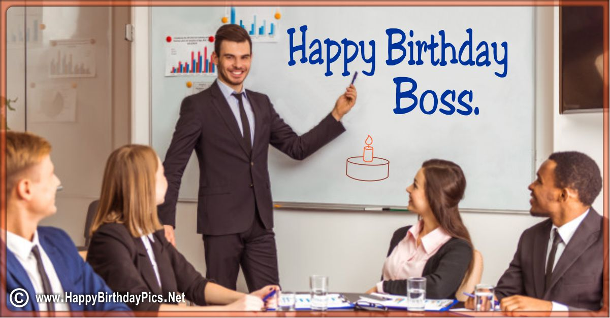 Happy Birthday Boss - A Meeting For Your Birthday Funny Card Equivalents