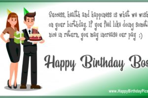 Happy Birthday Boss – Have Success, Health, and Happiness