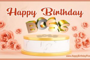 Happy Birthday Boss – Have Roses and Golds