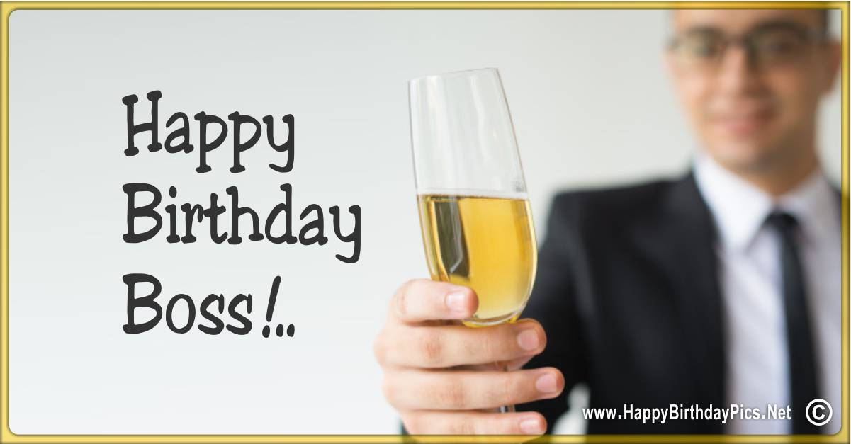 32 Best Birthday Wishes For Your Boss